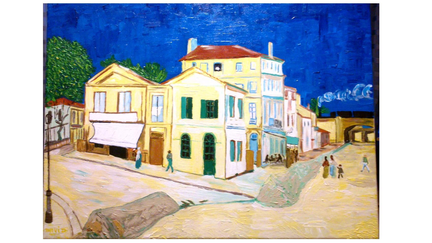 Emejing Chambre Jaune Van Gogh Description Ideas