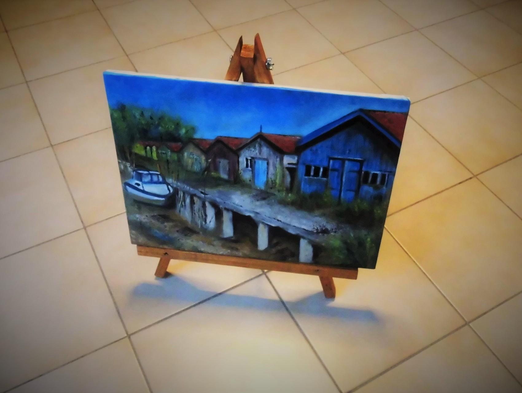 peinture support en bois pour toile. Black Bedroom Furniture Sets. Home Design Ideas