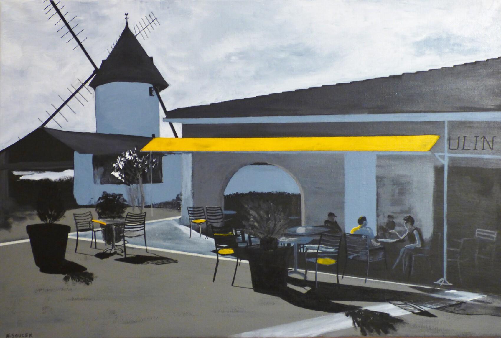 Le moulin de Nieul