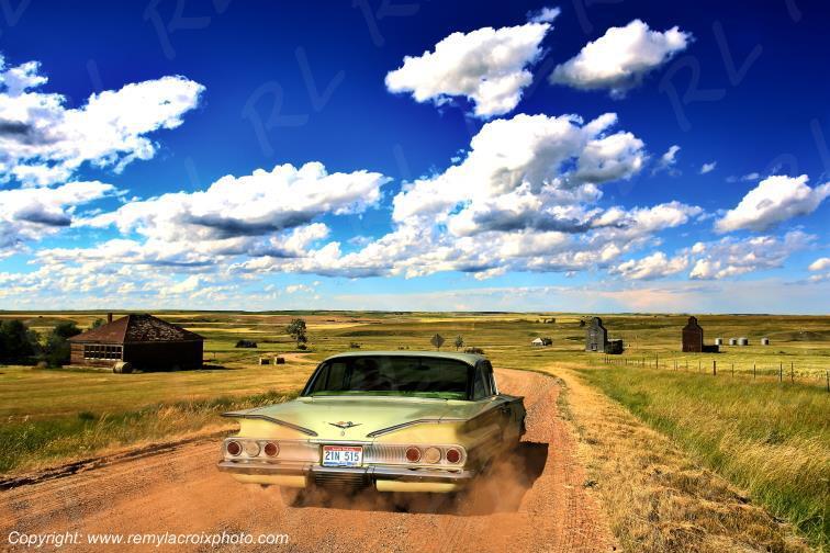 Chevrolet Impala 1960 - Charbonneau - North Dakota - USA