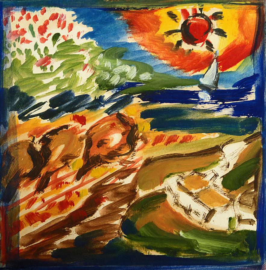 Peinture Les 4 Saisons