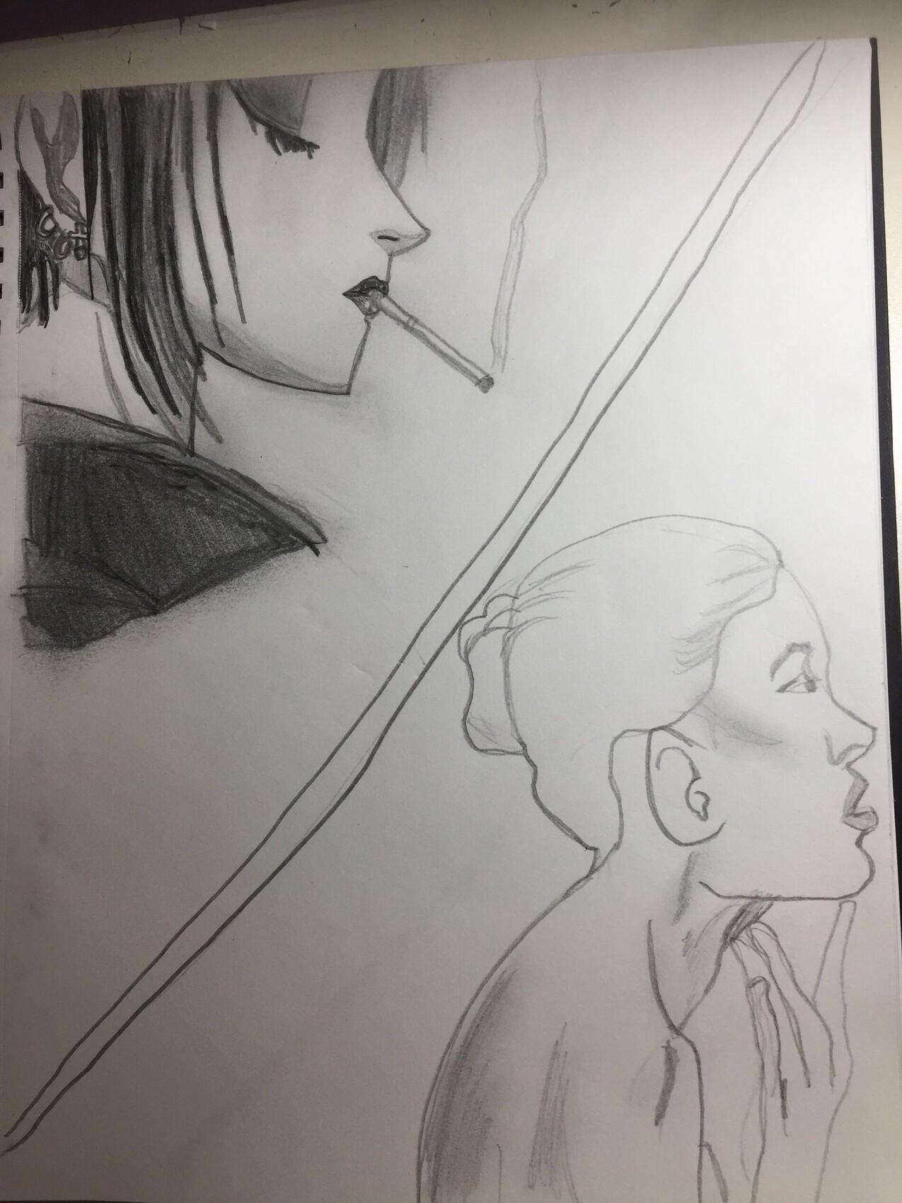 Deux visage de pofile