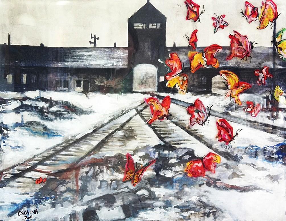 Auschwitz butterflies