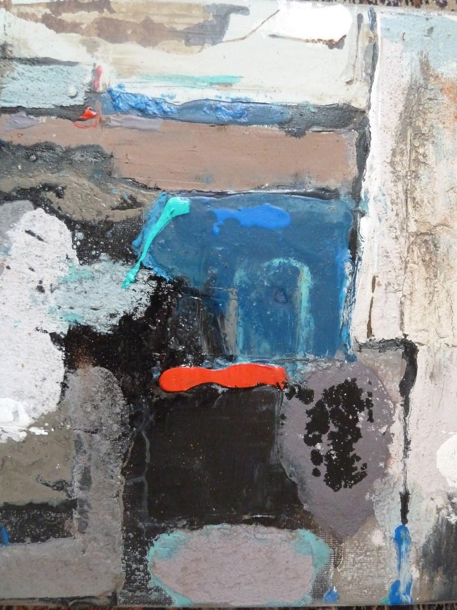 Peinture sur la route de fos for Peinture conceptuelle