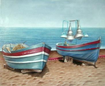      les barques de peche