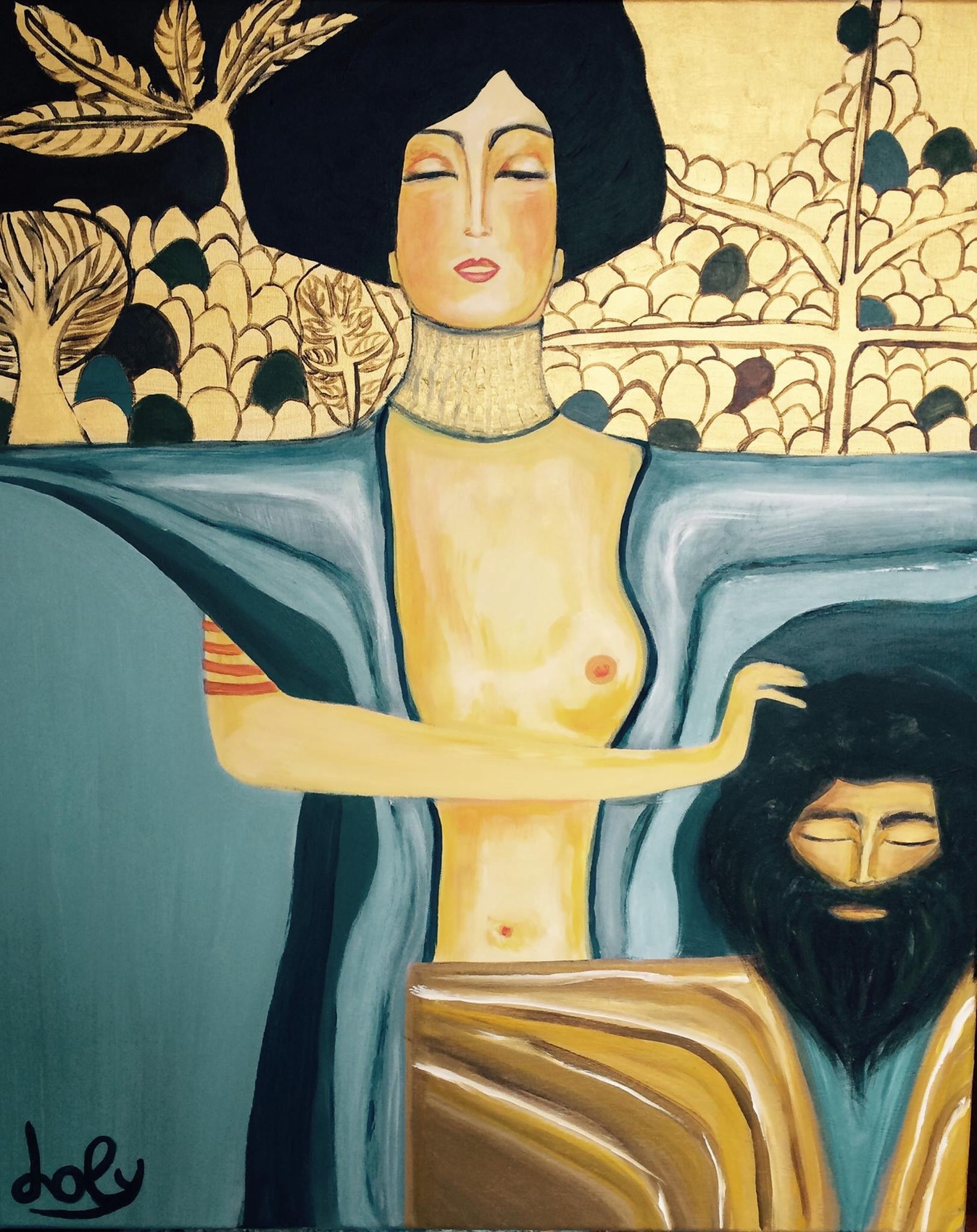Judith - inspiration Klimt