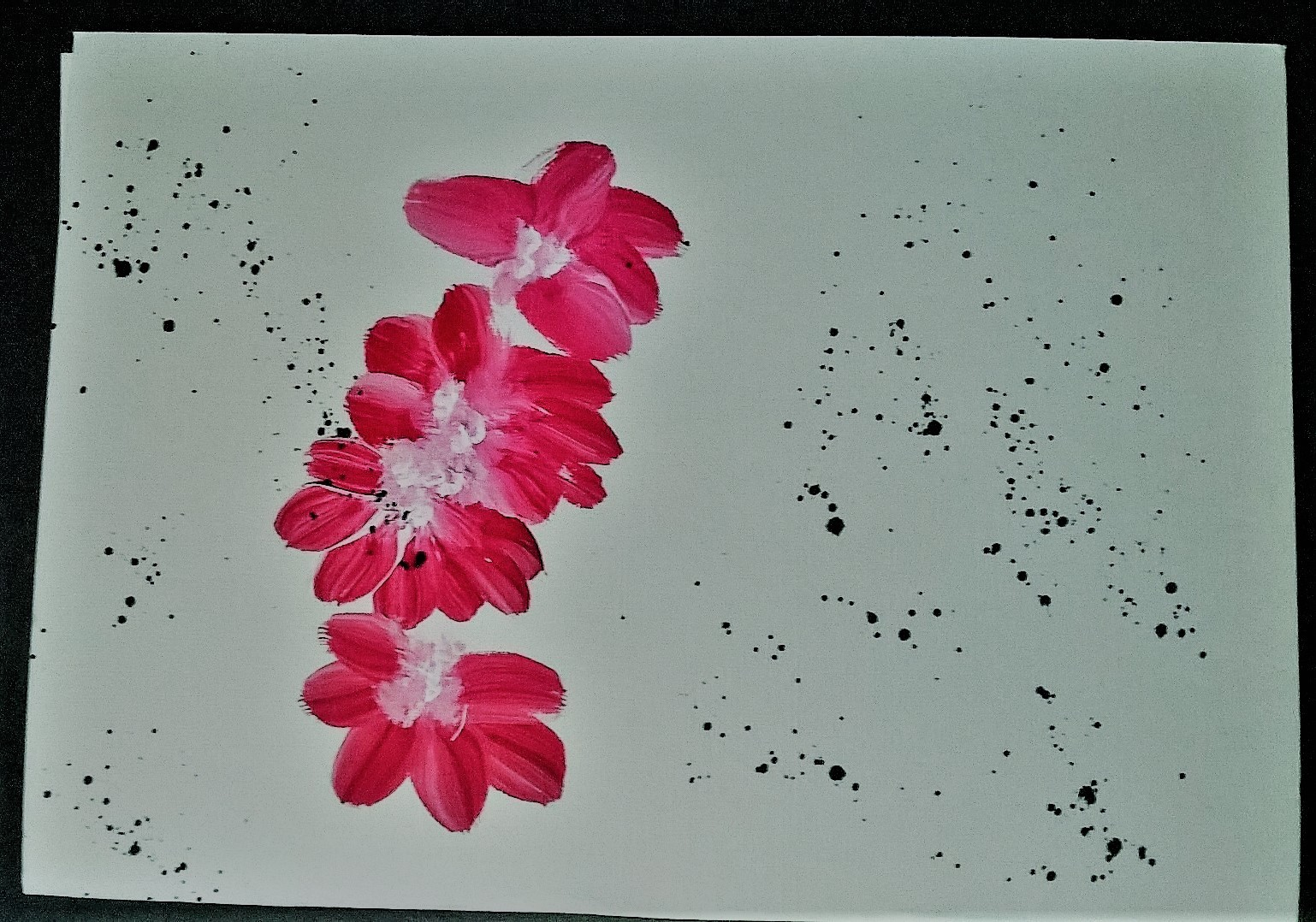 Peinture 2 me bouquet fleuri de v nus for Bouquet fleuri