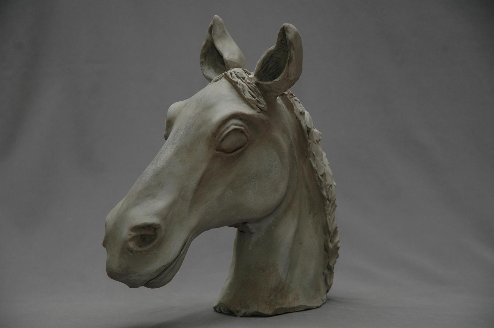 Sculpture t te de cheval - Image tete de cheval ...