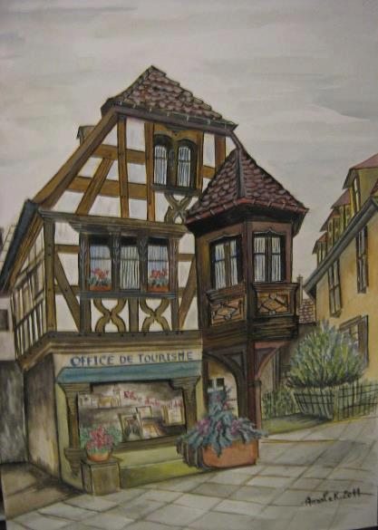 la maison alsacienne