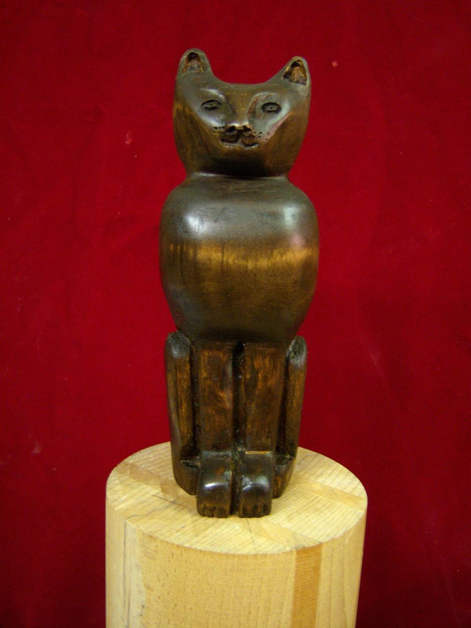 le chat en bois