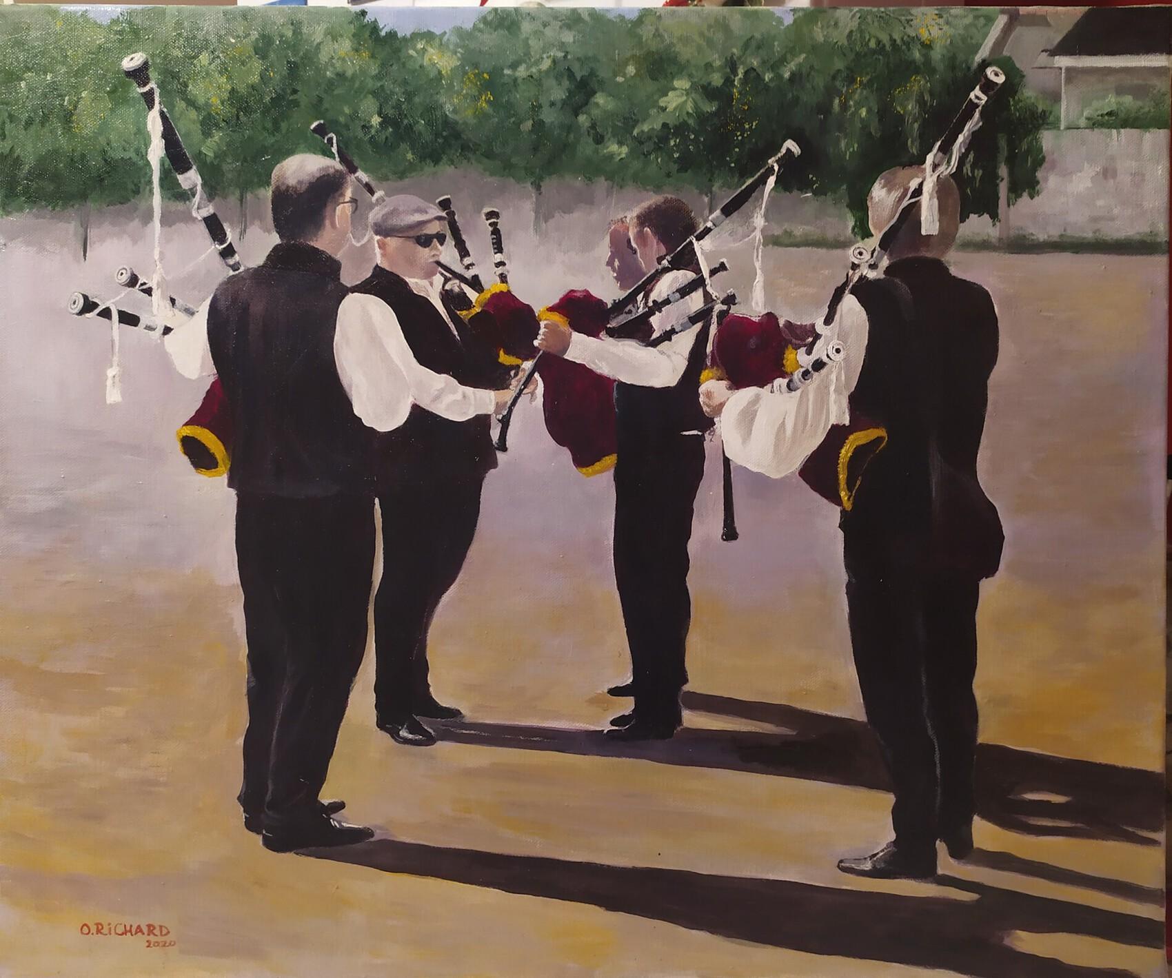 Sonneurs à Quiberon