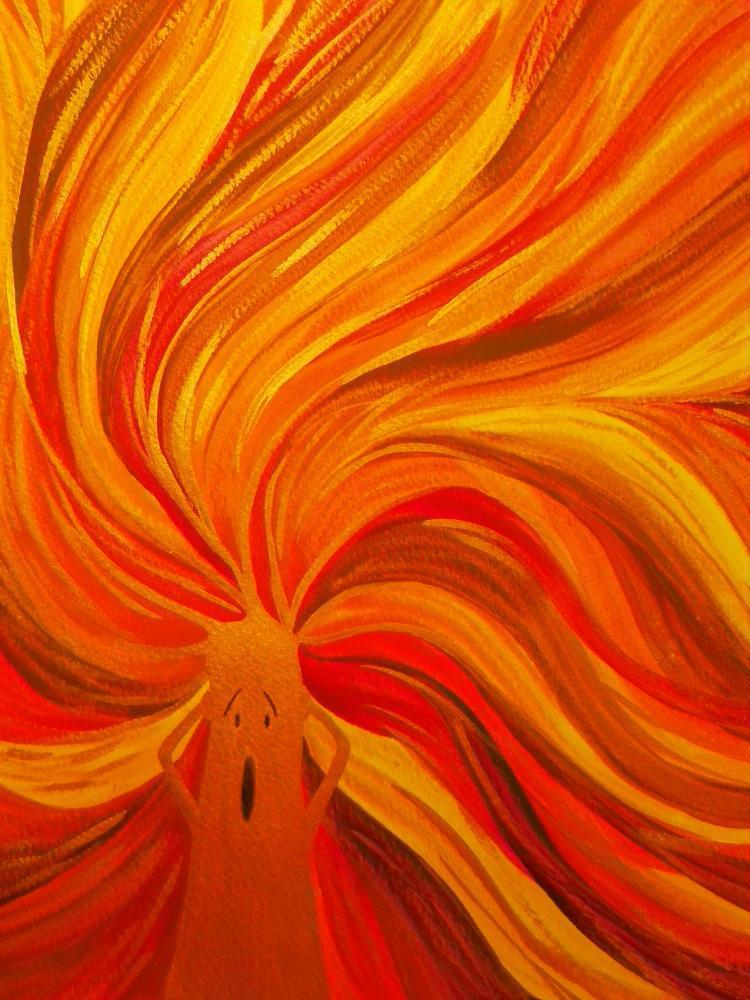 Peinture feu