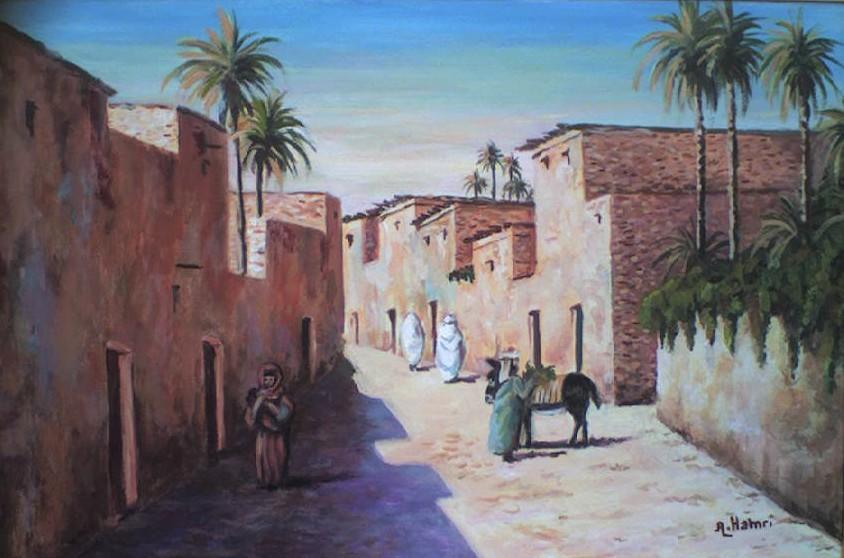 village du sud Algérien