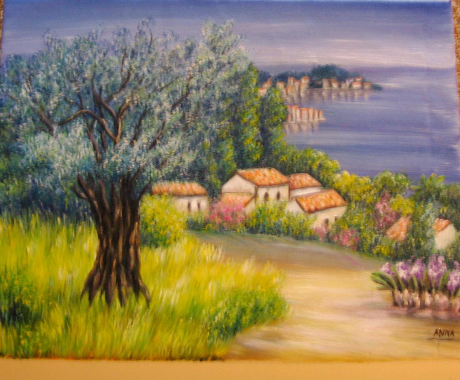 Peinture la maison de provence - La maison de la peinture ...