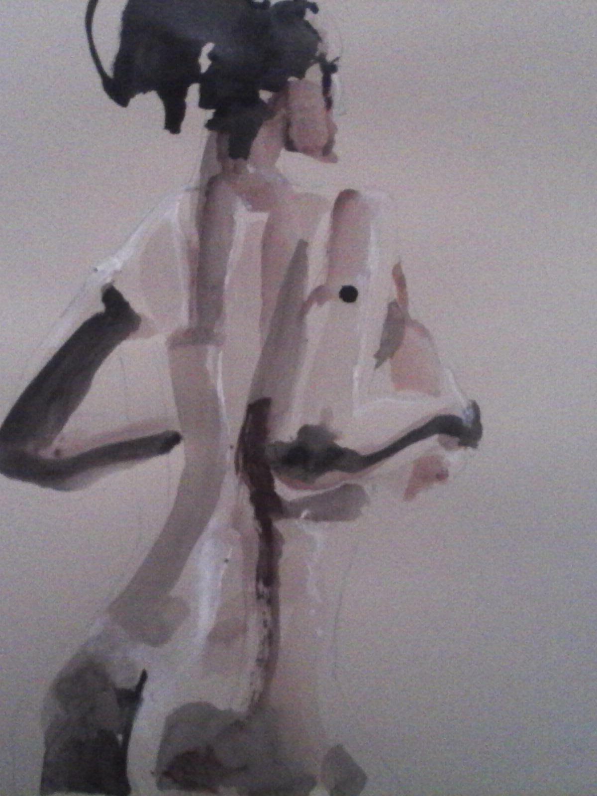 Peinture Dos nu
