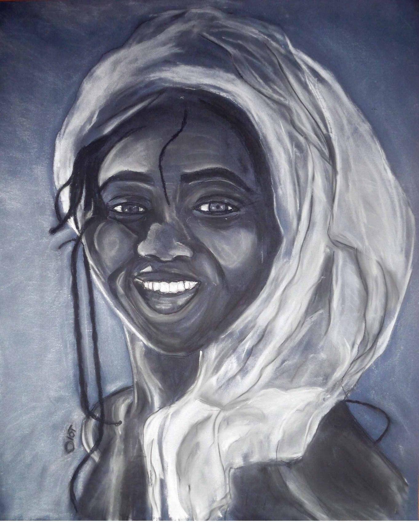 Dessin femme afrique - Africaine dessin ...