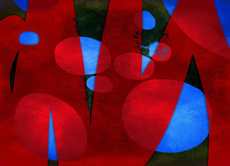 Pixart 47 - Création numérique abstraite sur papier photo