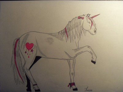 Dessin cheval f erique - Dessin feerique ...