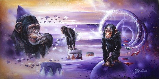 """Magic circus - VERLAN 2000"" Thierry Mordant"