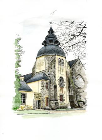 Pont-l'Abbé (29)-Eglise Notre-Dame des Carmes