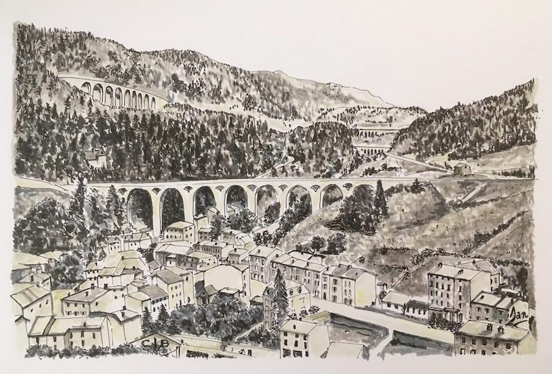 MOREZ -Les quatre viaducs