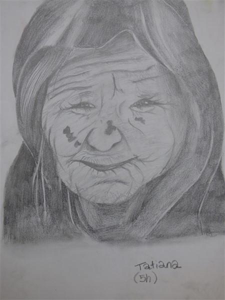 La vieille dame