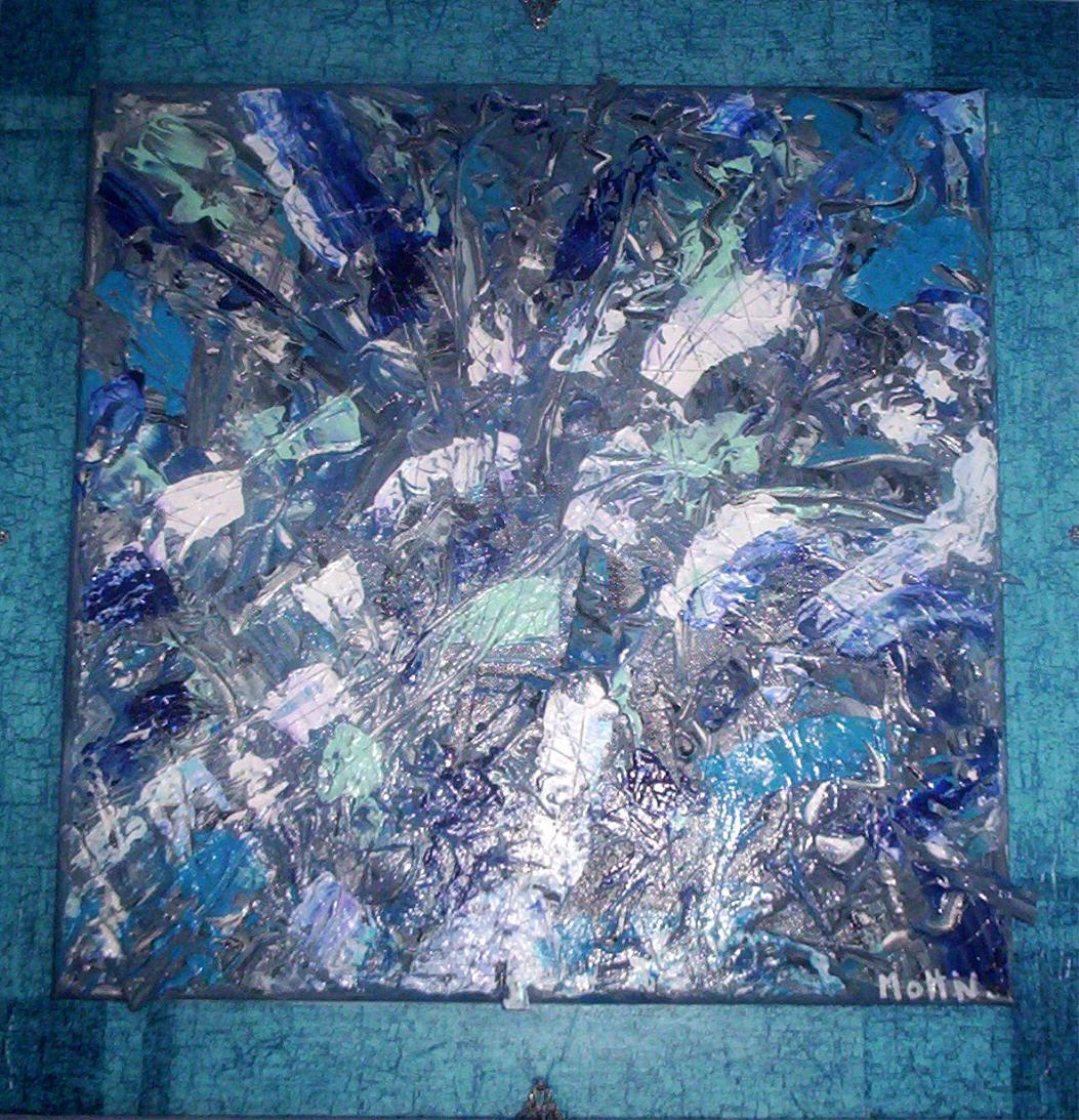 Peinture miroir bris for Le miroir brise