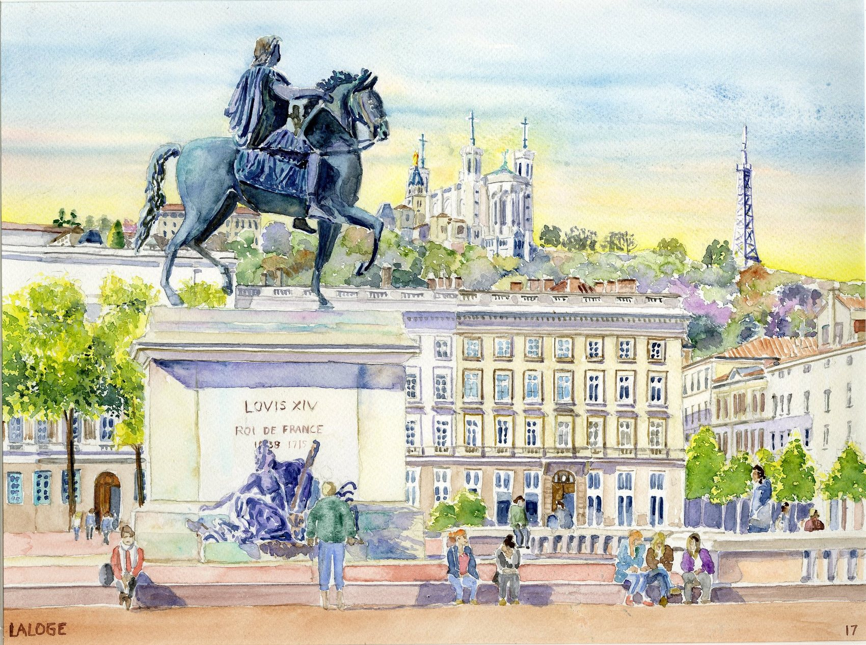 2017-12 Lyon Place Bellecour