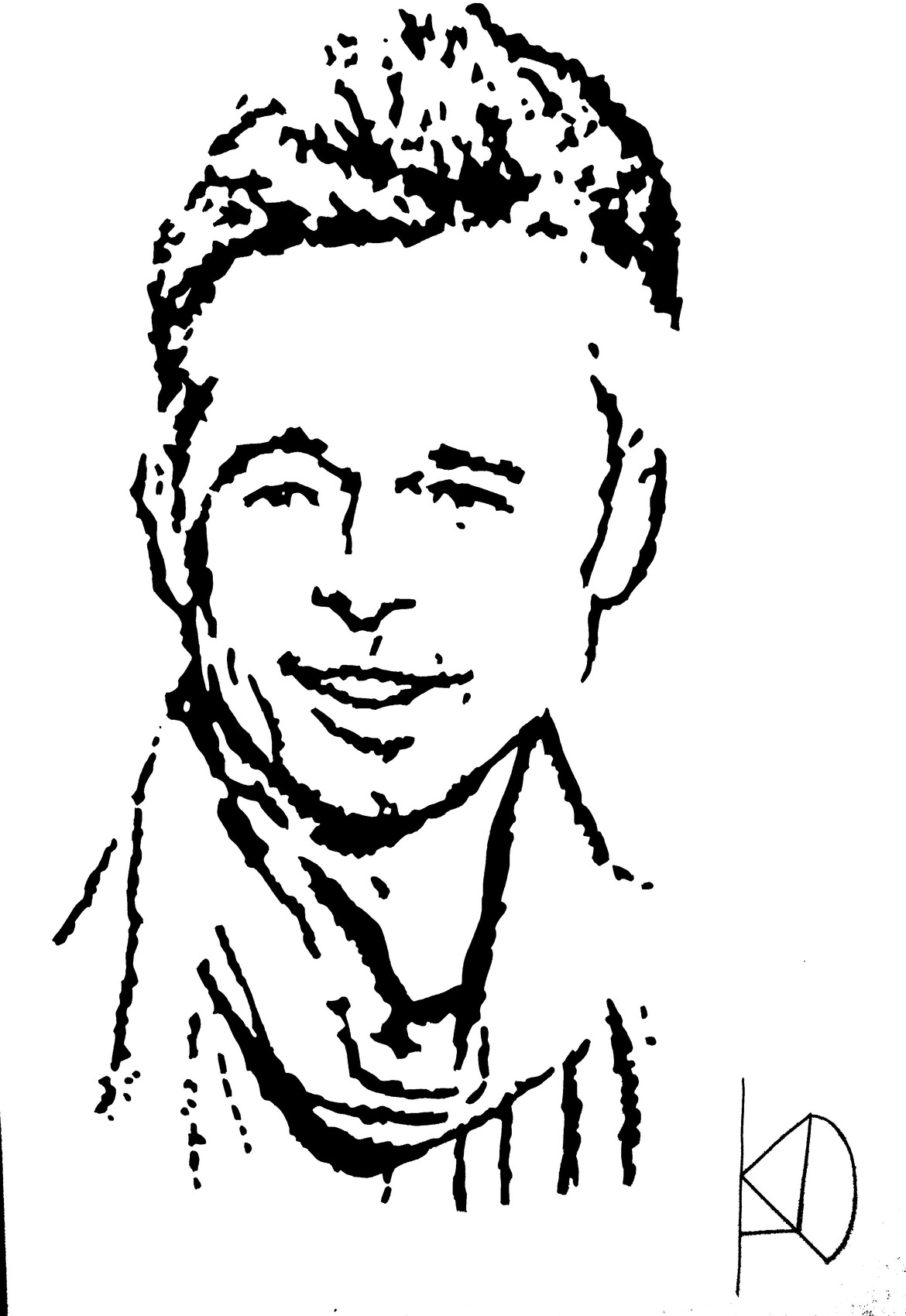 portrait de Brad Pitt