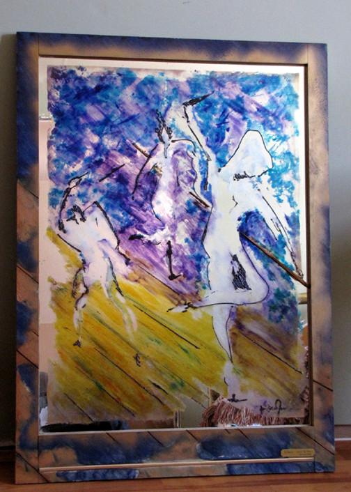 Peinture la danse miroir de l 39 me for Miroir de l ame