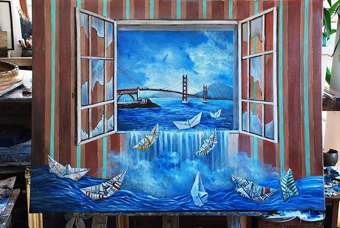 golden Gate bridge San Francisco  2015