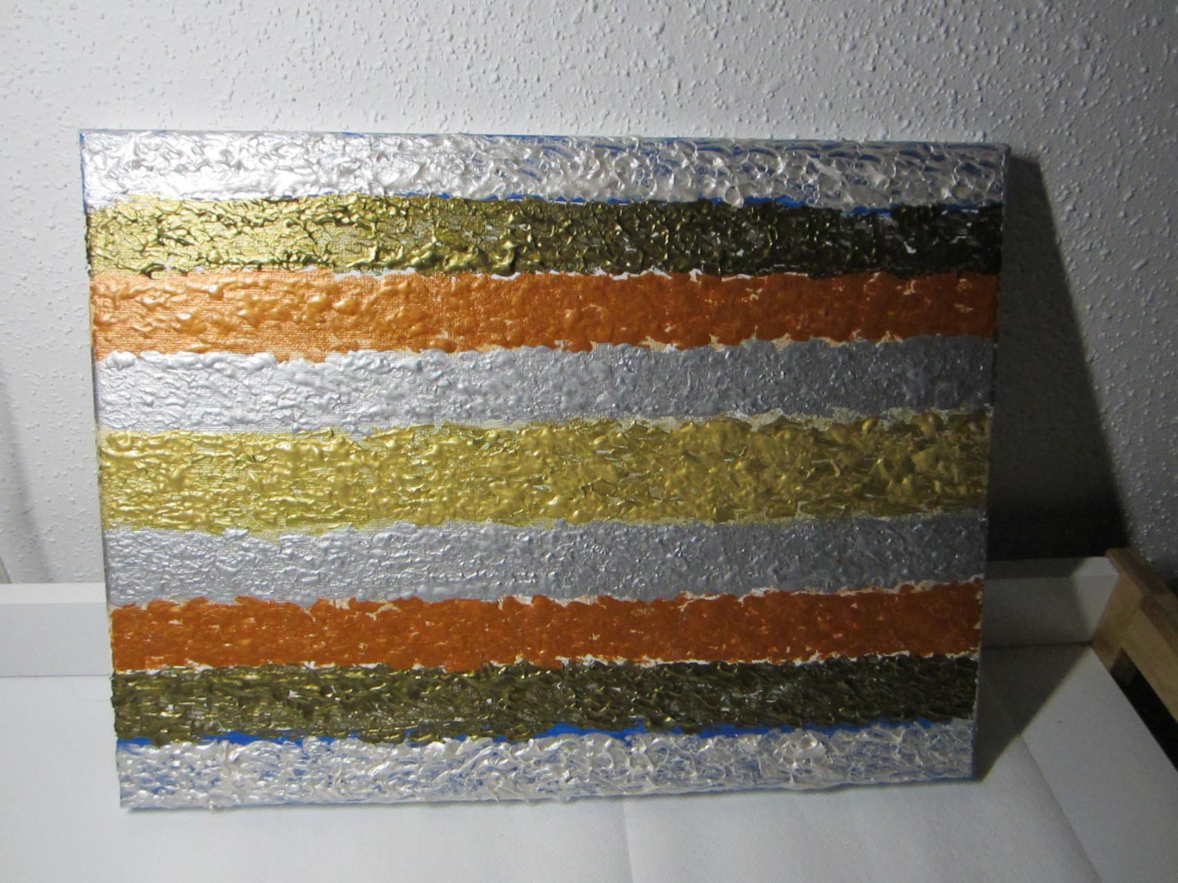 tableau peinture métallique