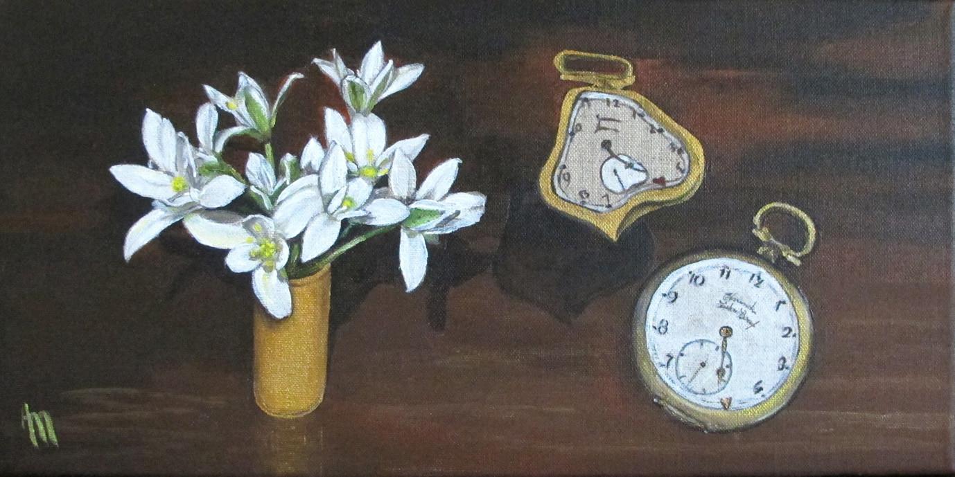 Peinture La Fuite du temps