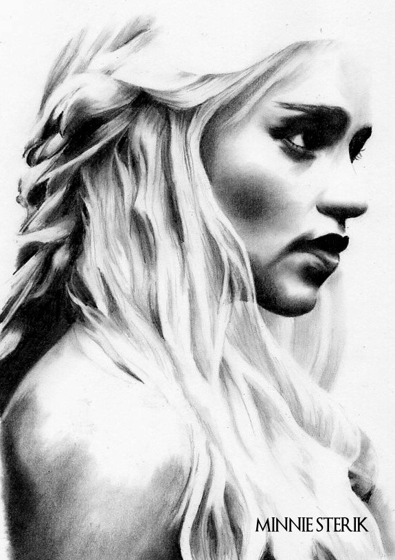 Dessin Daenerys Targaryen Game Of Thrones