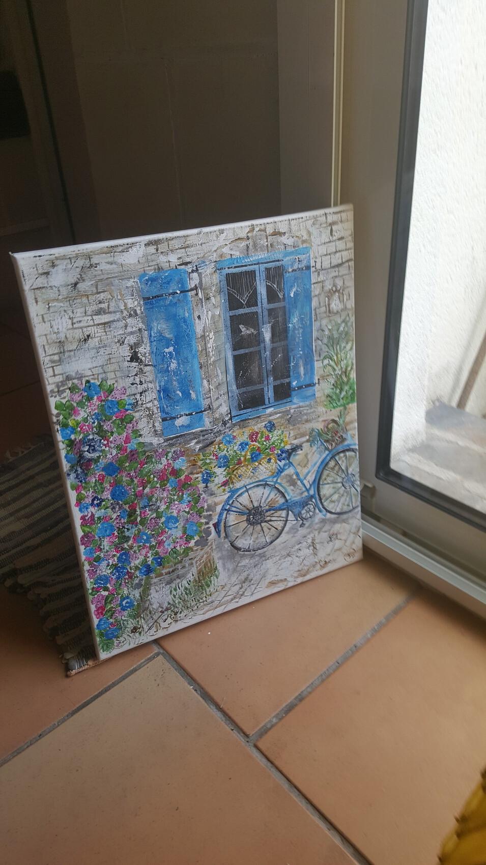 La bicyclette bleue