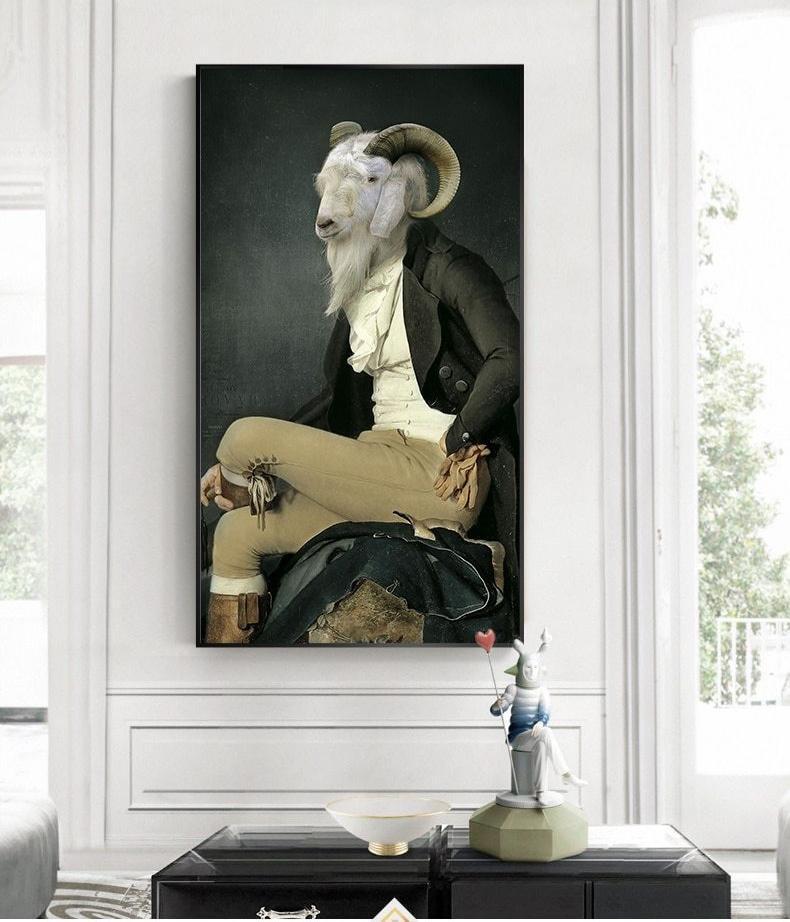 Peinture sur toile | Classy Goat