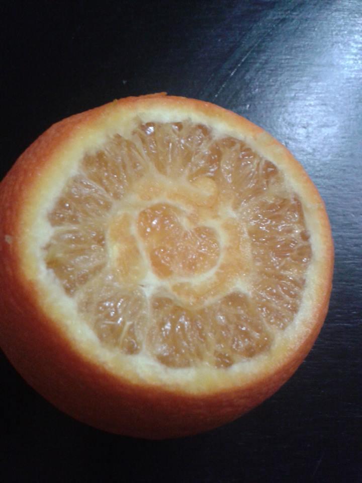 L'orange amoureuse