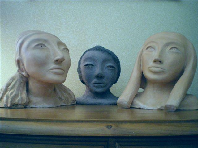 visages de femmmes
