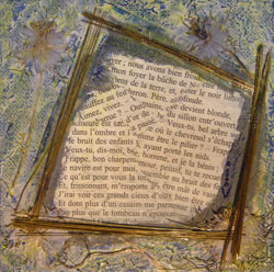Peinture Poesie