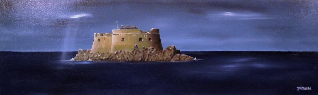 Saint-Malo - Le Fort de la Conchée