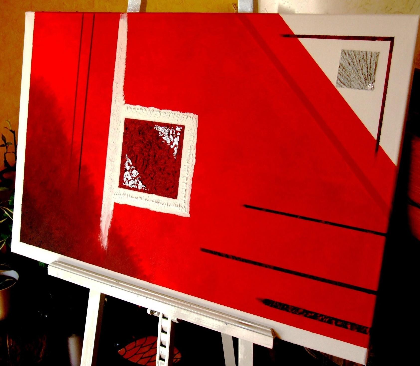 carré rouge