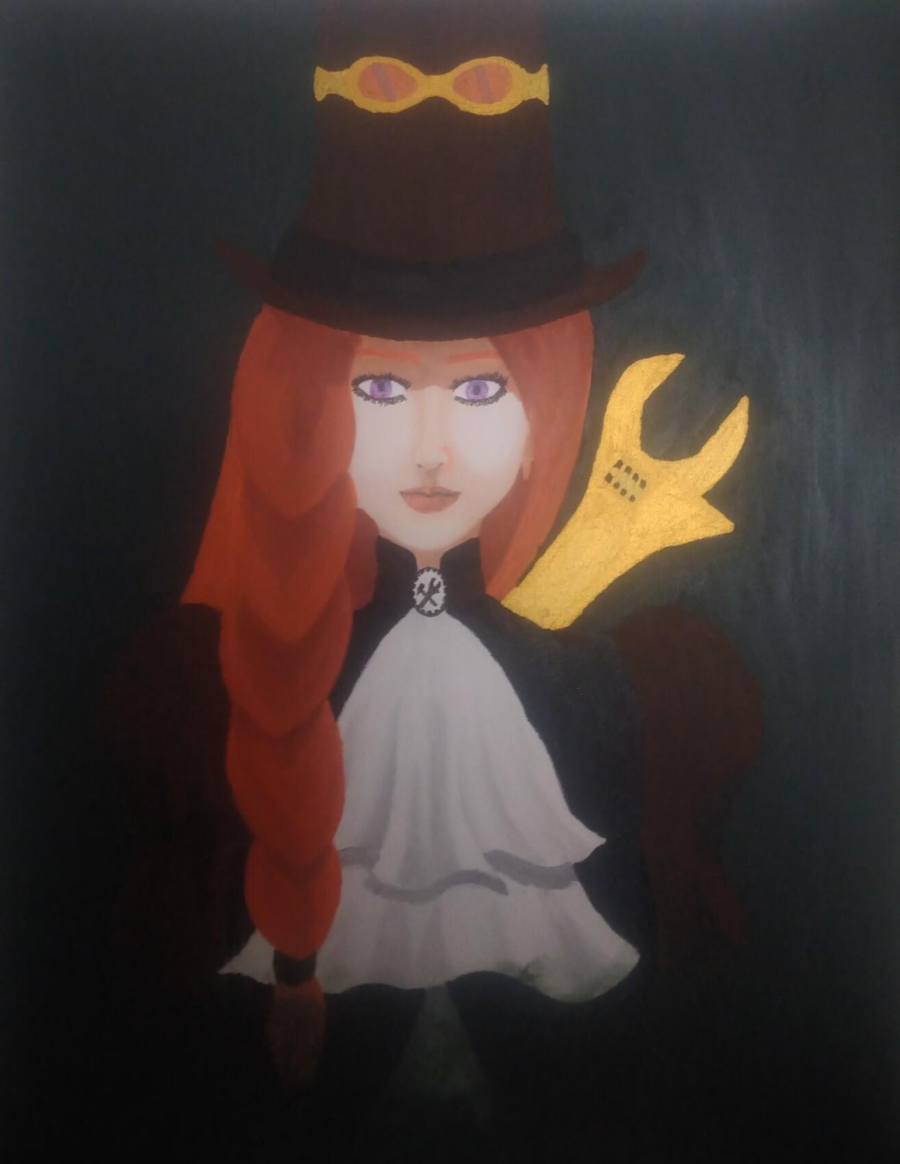 Portrait de Mirna