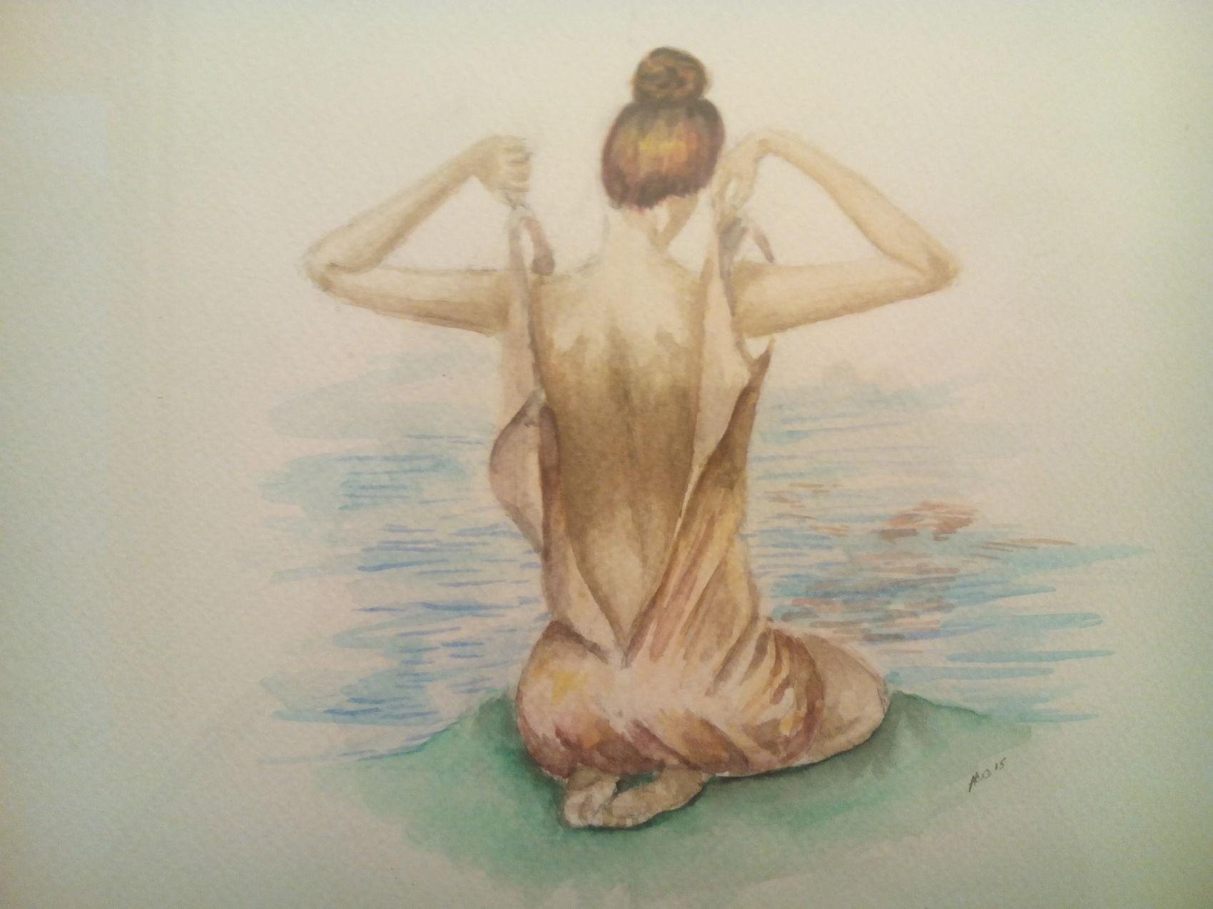 Le femme du lac