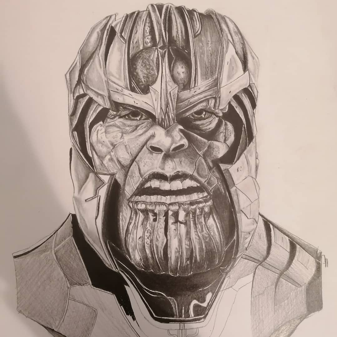 Portrait de Thanos