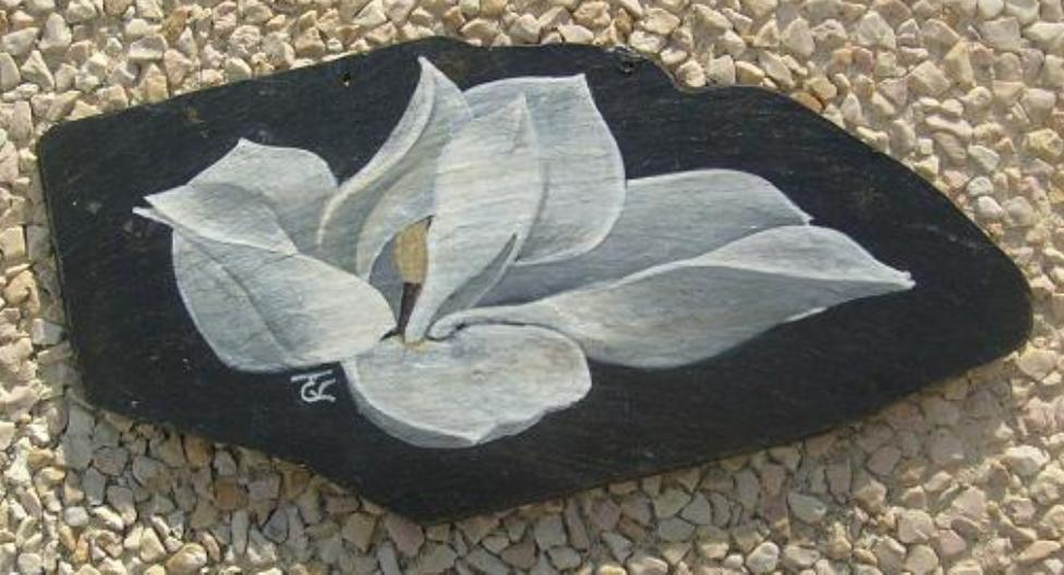 Peinture fleur de n nuphar for Miroir casse conjurer sort