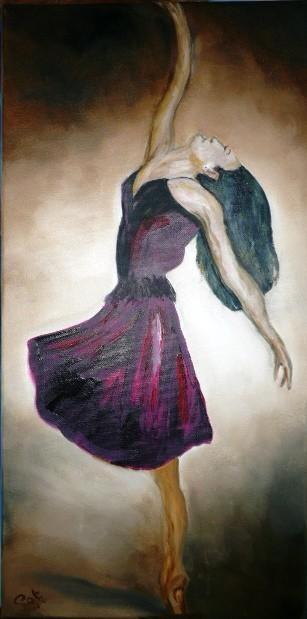 Peinture ballerine - Choix des couleurs de peinture ...