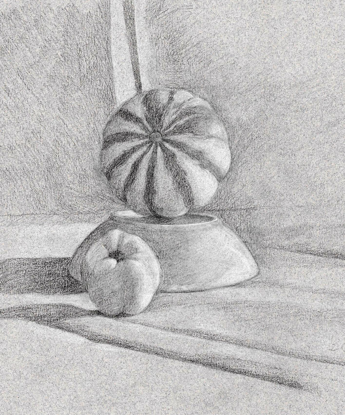 NATURE MORTE au Pâtisson