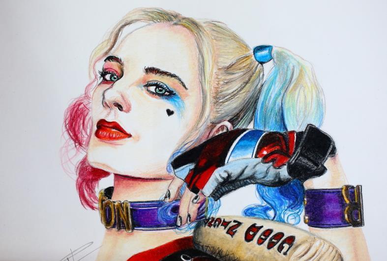 Image Harley Quinn Dessin