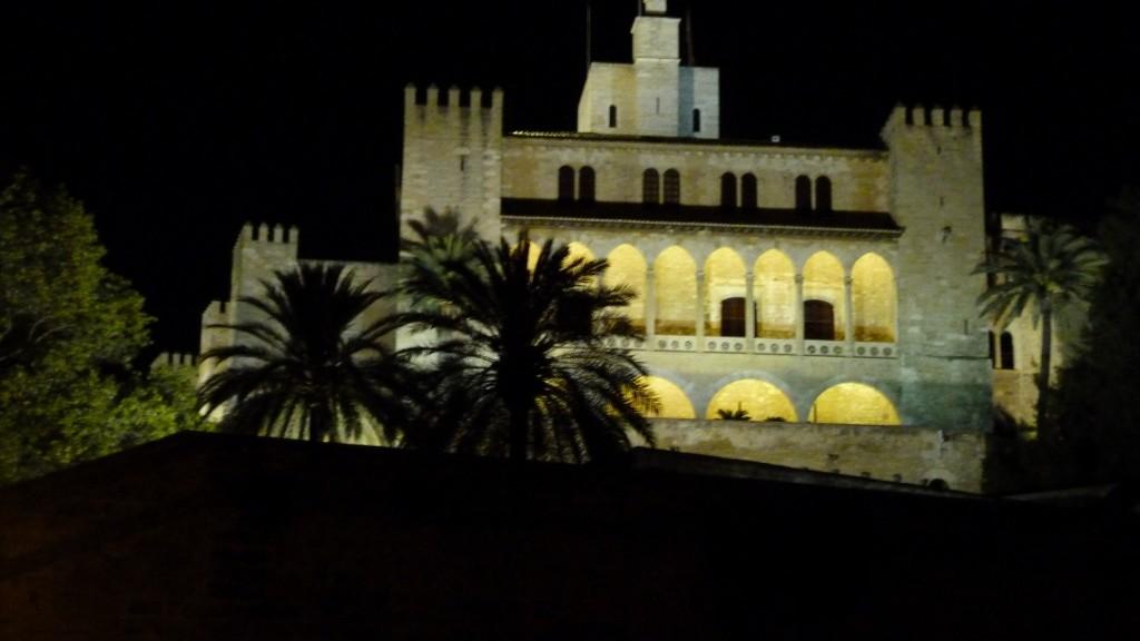 chateau des Rois d'Espagne à Palma