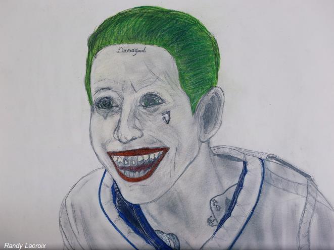 Dessin joker version suicide squad - Le joker dessin ...